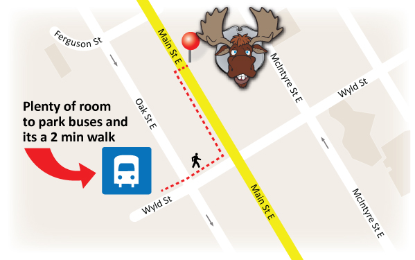 Bus Parking for the Moose
